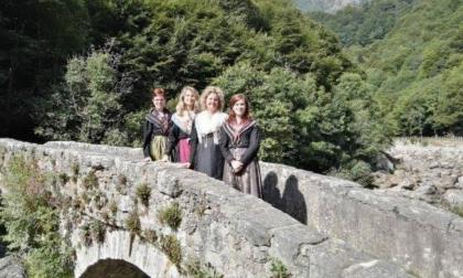Il Ponte della Coda distrutto dal maltempo nel calendario di ScalpitiAmo per Piedicavallo