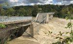Crollato il ponte sul Sesia tra Romagnano e Gattinara VIDEO FOTO
