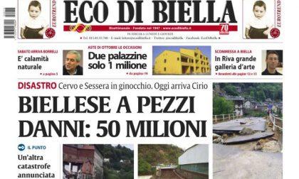 Il Biellese devastato dall'alluvione. Lo speciale di Eco di Biella