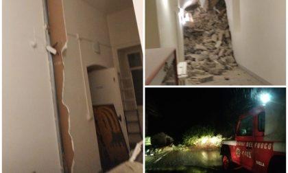 Frana devasta il Santuario di San Giovanni d'Andorno, albero si abbatte sulla Biella-Piedicavallo