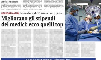Gli stipendi dei cento medici dirigenti dell'Azienda sanitaria di Biella
