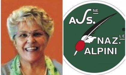 Alpini in lutto per Rosanna Tabozzi, moglie del capogruppo Alvido Alciato