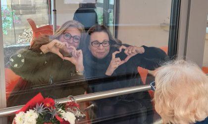 """Al Cerino Zegna la """"baita"""" riscaldata per le visite agli ospiti dell'Rsa"""