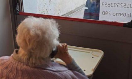 RSA, le visite tornano divisi da un vetro