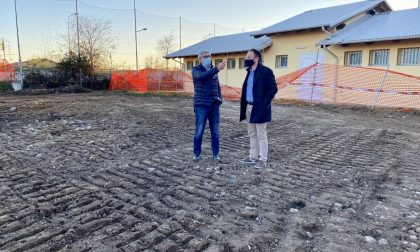 Aperto il cantiere per la nascita di un nuovo campo sportivo al Villaggio La Marmora