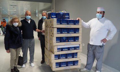 Gli Amici del Vernato donano 100 panettoni ad Asl
