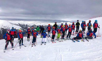 Sulla neve di Bielmonte porte aperte solo ad allenamenti e club