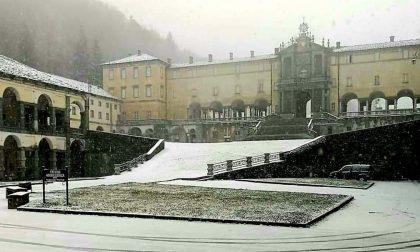 La neve sta imbiancando il Biellese- FOTO