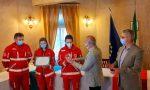 Covid, comitato Croce Rossa premiato per l'impegno nell'emergenza- FOTO