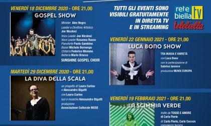 """La stagione teatrale """"Biella in scena"""" va in streaming con cinque spettacoli gratis"""