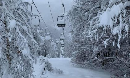 Bielmonte: dosso grande, un metro di neve