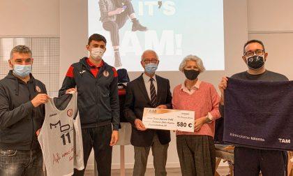 TAM con Pallacanestro Biella e Fondazione Angelino