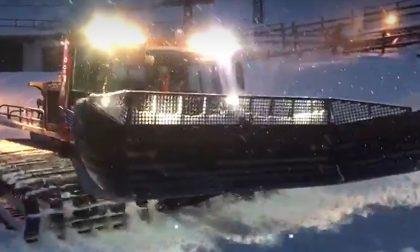 Due metri di neve al Mucrone, manutenzioni in corso sui nostri monti VIDEO