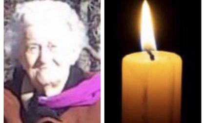 Morta la nonna del gommista Andrea Mompiani