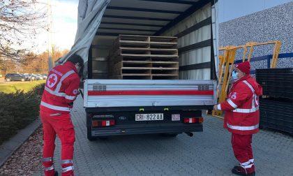 Azienda dona pallets di legno alla Croce Rossa