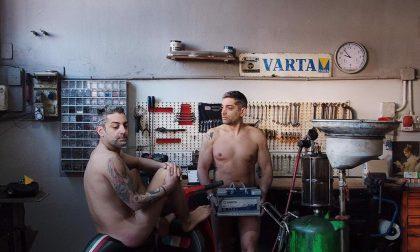 Commercianti di Cavaglià nudi per beneficenza