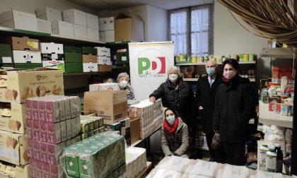 Il Pd Biella dona beni di prima necessità