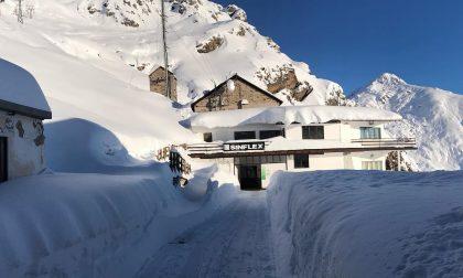 Oropa, guardate che bella la neve dalle funivie