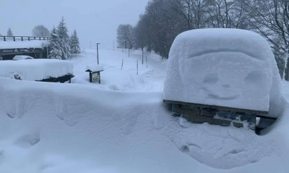 Bielmonte, strade chiuse per la neve