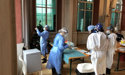 Anche alla Domus vaccinati ospiti e operatori