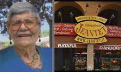 E' morta Giuseppina Pasquale, storica titolare della pasticceria Jeantet