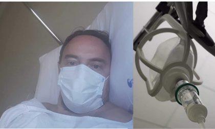 Il consigliere Corrado Neggia rassicura dopo il terzo intervento chirurgico