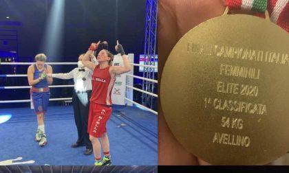 La biellese Giulietta Lamagna vince i campionati italiani di boxe