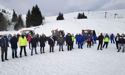 Flash mob a Bielmonte per sostenere il futuro della montagna