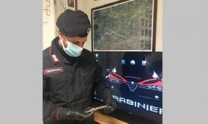 Denunciato per il coltello nel porta oggetti dell'auto 36enne residente a Cavaglia