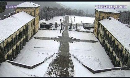 Le FOTO della neve a Oropa
