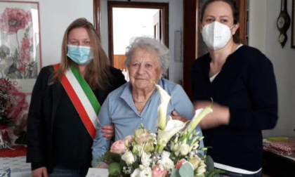 Occhieppo Inferiore festeggia i 100 anni di Anna Bersano