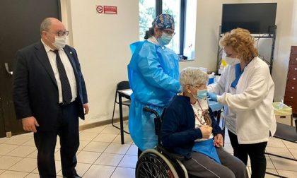 Centro Vaccinale di via Delleani inaugurato ufficialmente