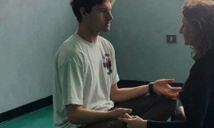La meditazione dello studente prima delle lezioni