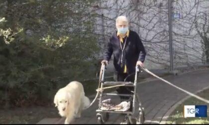 Gli anziani del Cerino Zegna su Rai 3, ecco il video dei loro auguri di Pasqua
