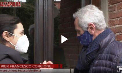 """Piazza Pulita (La7) e """"Furbetti del vaccino"""": figuraccia in salsa biellese"""