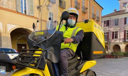 """Poste, a Biella la consegna con i """"tricicli termici"""""""