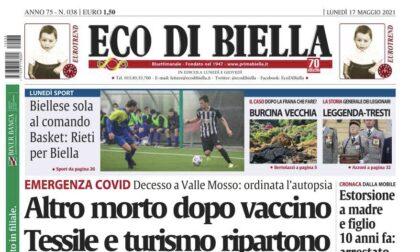Ecco tutte le esclusive in edicola su Eco di Biella