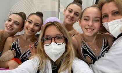 Quattro ginnaste biellesi esordiscono fra le Big della Serie C a Padova