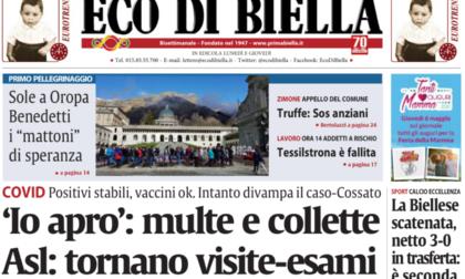 Eco di Biella in edicola con esclusive e approfondimenti
