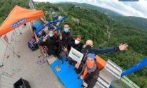 Dopo sette mesi ha riaperto il bungee jumping