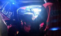 Cossato, incidente nella notte tra due auto: guidatori illesi