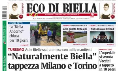 Tutte le esclusive in edicola questa mattina con Eco di Biella