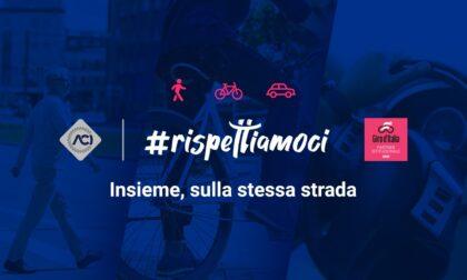 Con il Giro arriva #rispettiamoci, iniziativa per sicurezza ciclisti e pedoni