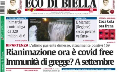 Le esclusive di Eco di Biella oggi in edicola