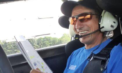 Il pilota Pier Tasinato lancia campagna fondi per ospedale Biella