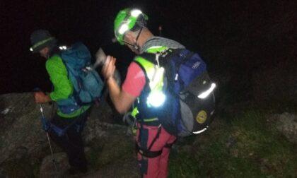 Ritrovati dal Soccorso alpino due escursionisti dispersi in Val Chiusella