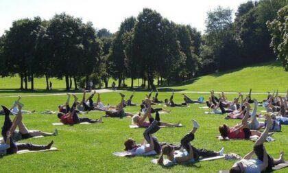 Una lezione gratuita di yoga con la Croce Rossa di Biella