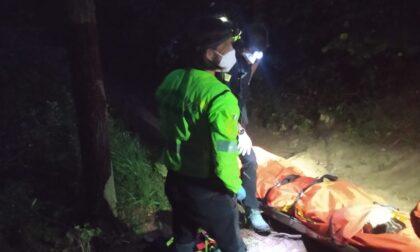 Il Soccorso Alpino interviene per soccorrere una donna di 57 anni