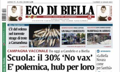 Eco di Biella in edicola con tante esclusive e  approfondimenti