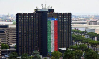 Poste, i volti i quattro biellesi sulla bandiera record per tifare l'Italia